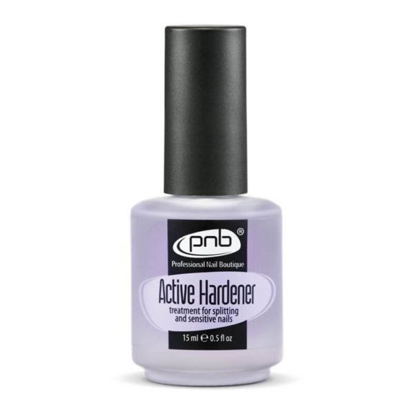 PNB Active Hardener. Средство для укрепления ломких и слоящихся ногтей.