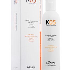 kaaral шампунь для жирной кожи головы