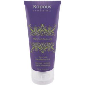 Kapous. Маска для волос с маслом ореха макадамии. Объём: 150 мл.