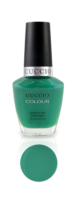 CUCCIO COLOUR 6109 JAKARTA JADE. Лак для ногтей.